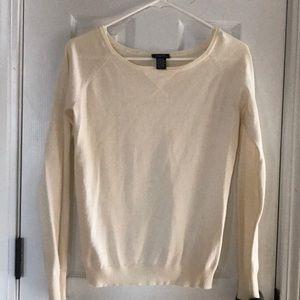 Rue21 Cream  sweater